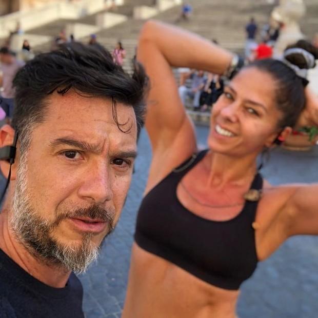 Alexandre Iódice e Adriane Galisteu (Foto: Reprodução/Instagram)