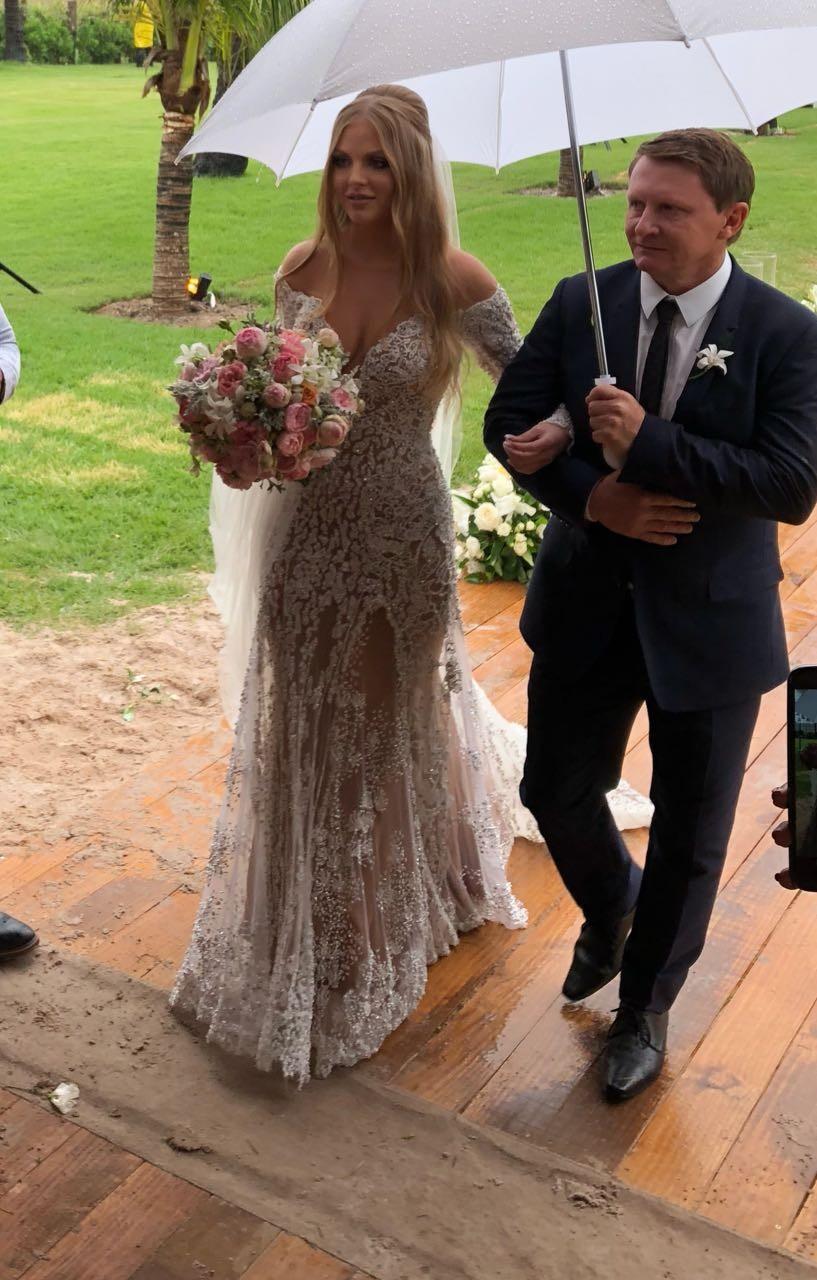 Noiva entrando (Foto: Divulgação)