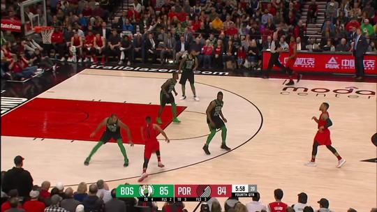 Melhores momentos: Boston Celtics 105 x 100 Portland Trail Blazzers pela NBA