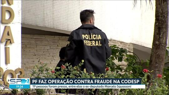 Operação da PF prende 19 suspeitos de fraudar contratos com a CODESP