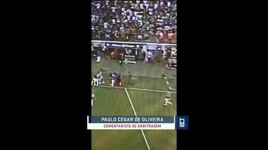PC de Oliveira comenta novo vídeo da polêmica de arbitragem de Palmeiras x Corinthians