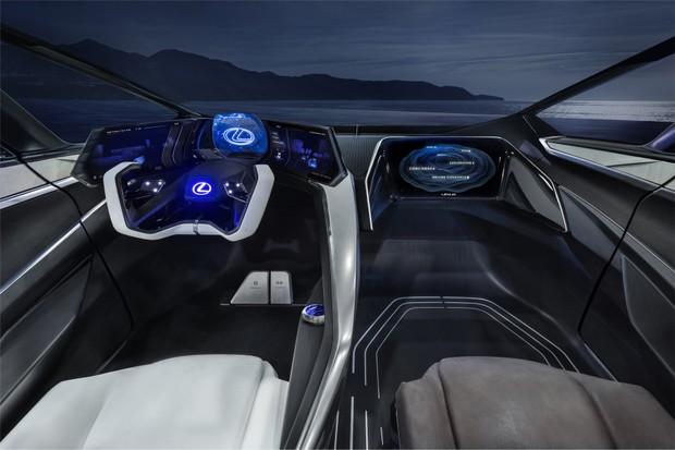 Lexus LF-30 Eletrified (Foto: Divulgação)