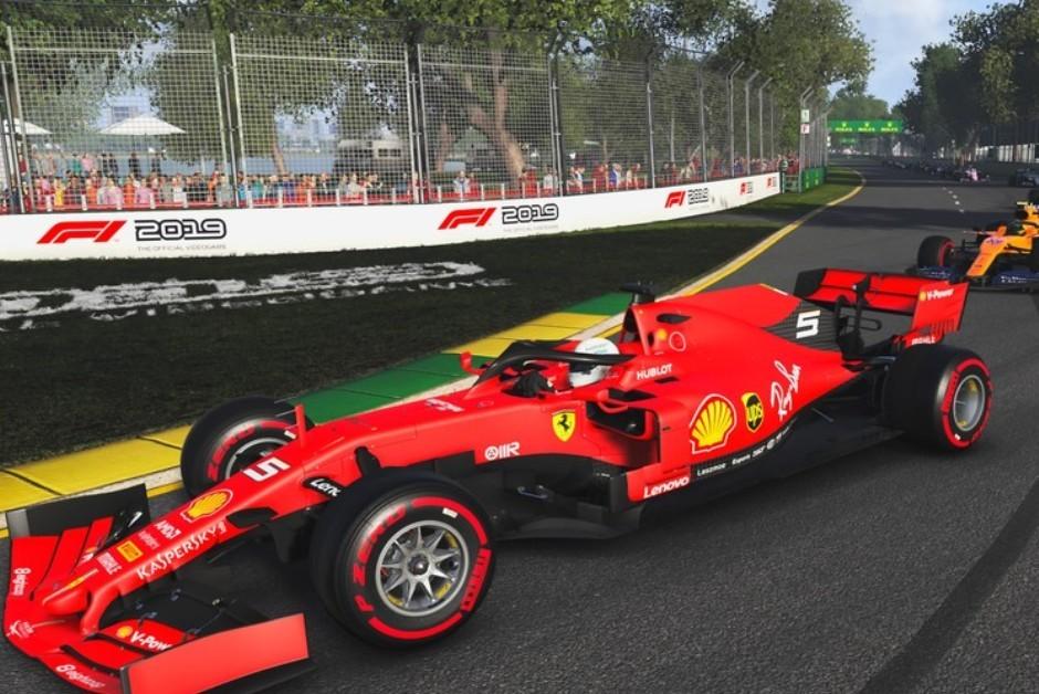 Tela do jogo F1 2019, produzido pela Codemasters (Foto: Divulgação)