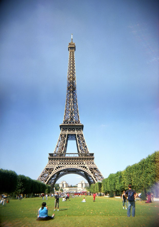 A stock photograph of the Eiffel Tower Paris France. (Foto: Ingram Publishing/ Thinkstock)