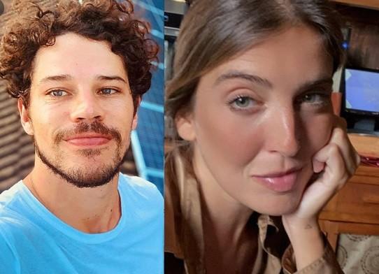 José Loreto namora a DJ Bruna Lennon (Foto: Reprodução)