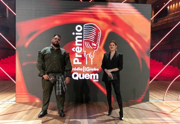 Ana Clara Paulo Vieira no Prêmio Rádio Globo Quem (Foto: Leo Lemos/Ed. Globo)