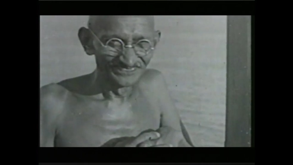 Mahatma Gandhi foi morto há 70 anos  (Foto: Arquivo N - GloboNews)