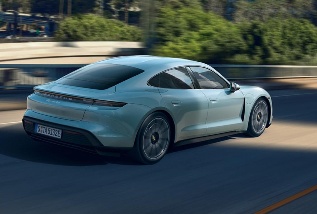 Porsche Taycan ganha versão menos potente, mas com a maior autonomia da linha - Notícias - Plantão Diário