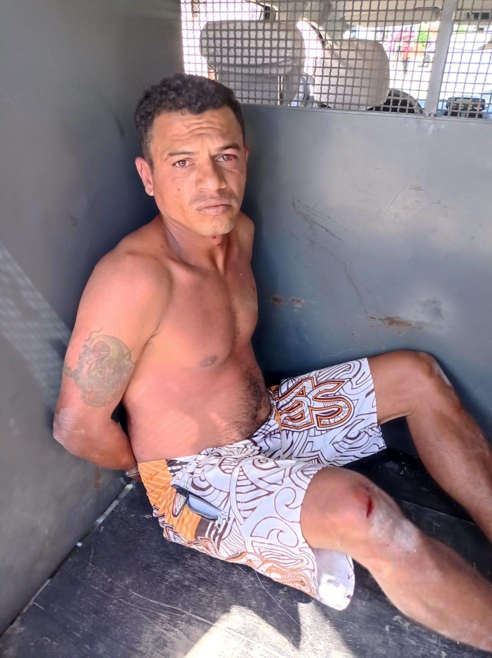 José Alex foi preso em Pernambuco por suspeita de matar e violentar criança em João Pessoa, na Paraíba — Foto: PMPE/Divulgação