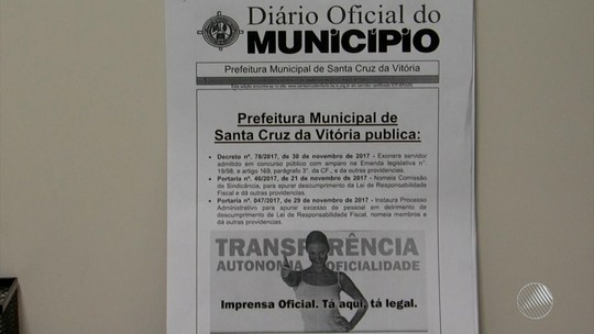 Prefeitura alega excesso de gasto com folha de pagamento e demite 66 servidores concursados na BA