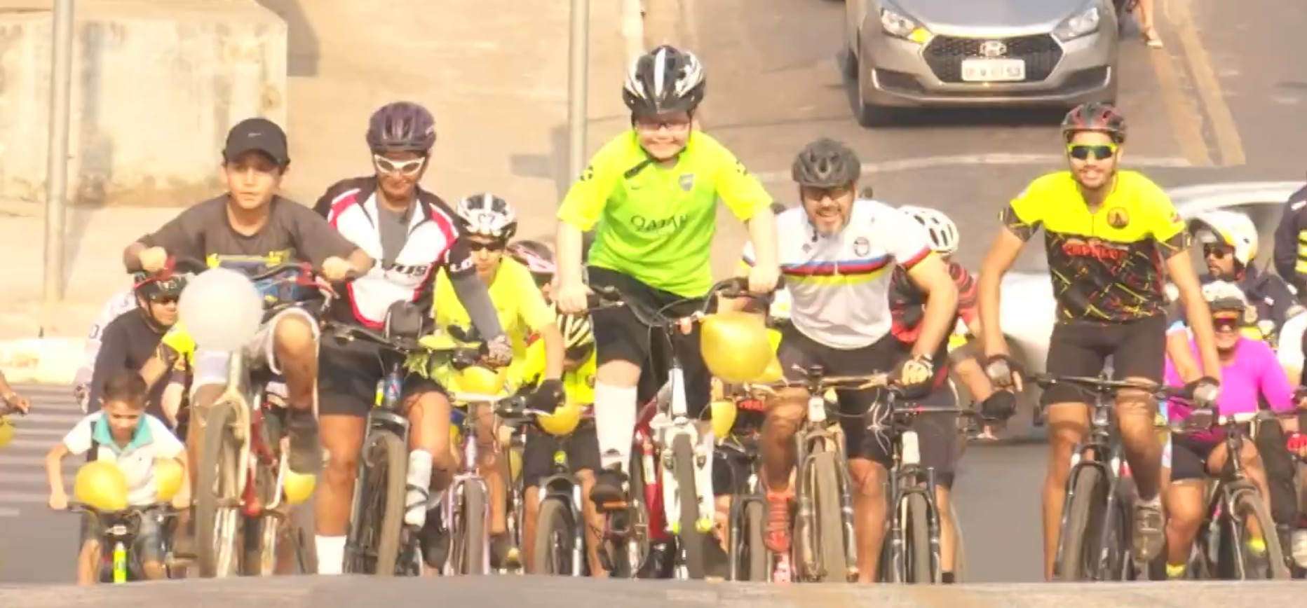 Ciclistas pedalam pela amamentação em Rio Branco  - Notícias - Plantão Diário