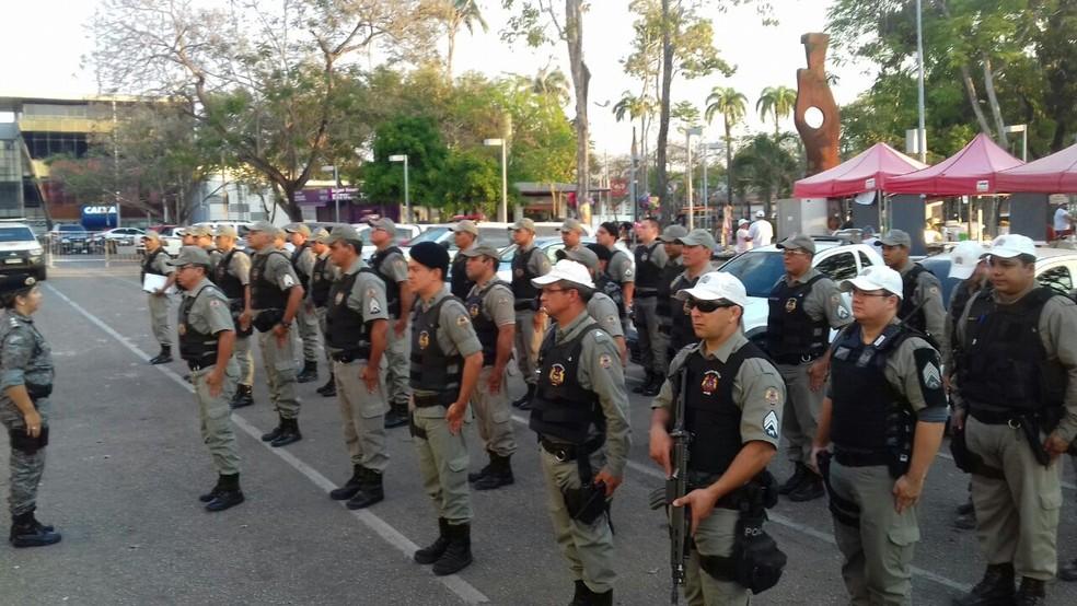 Militares estão nas ruas para reforçar segurança após ataques (Foto: Jefson Dourado/Rede Amazônica Acre)