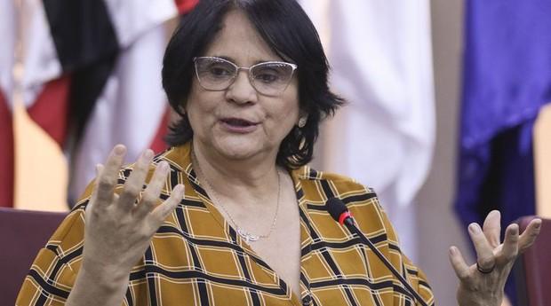 Ministra Damares  (Foto: Valter Campanato/Agência Brasil)