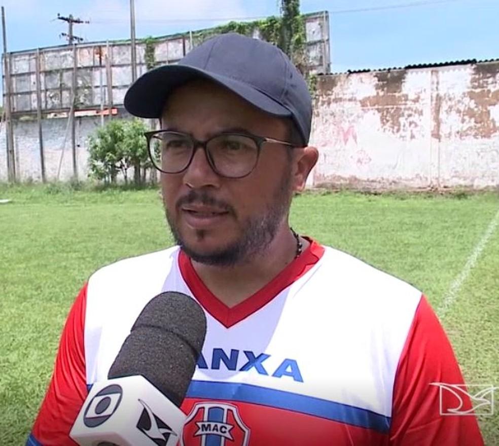 Maranhão aposta na continuidade do trabalho do técnico Lucas Andrade — Foto: Reprodução / TV Mirante