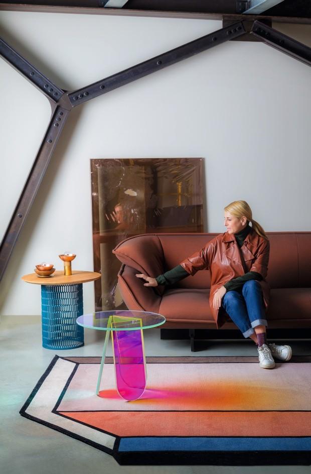 um loft imaginario decorado com pecas de patricia urquiola (Foto: Alessandro Paderni)