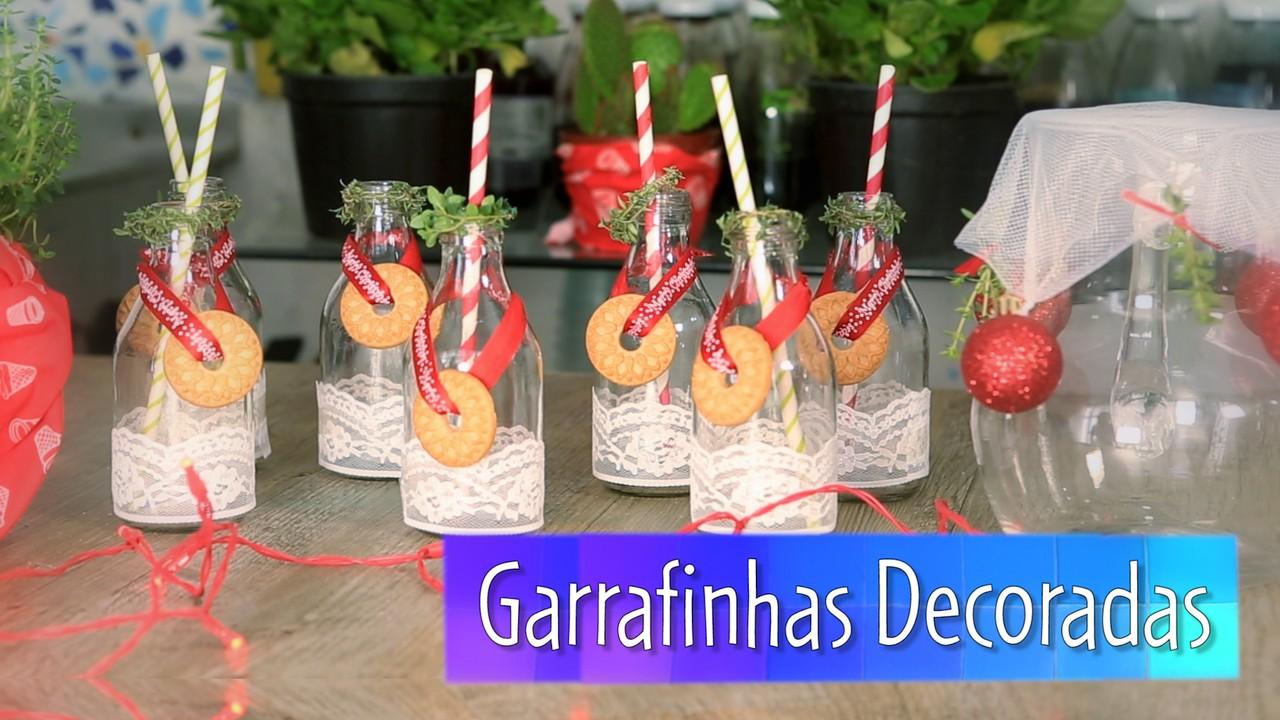 Dicas da Denise (1ª temporada) - Episódio 3: Garrafinhas decoradas
