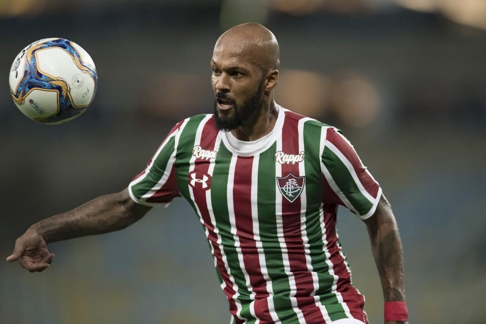 Bruno Silva já está em Porto Alegre para assinar com o Inter — Foto: JORGE RODRIGUES / ESTADÃO CONTEÚDO