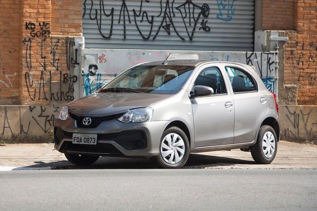 Toyota Etios (Foto: Autoesporte)