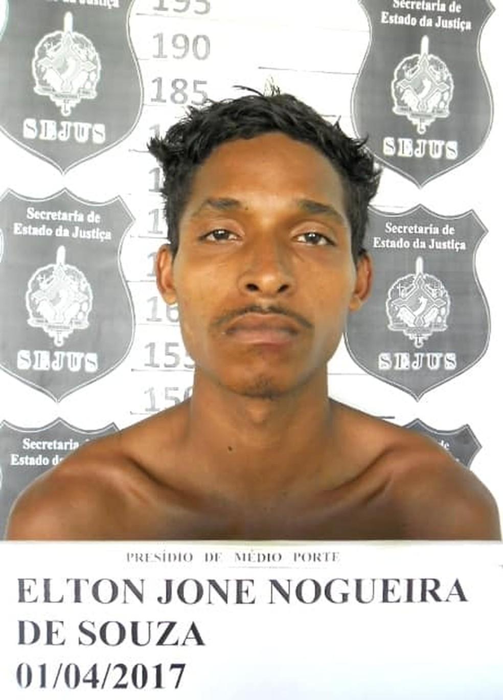 Elton Jone Nogueira de Souza — Foto: Aspra/Divulgação