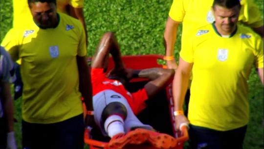 Marcelo Cirino sofre lesão grau dois na coxa e inicia tratamento no Atlético-PR