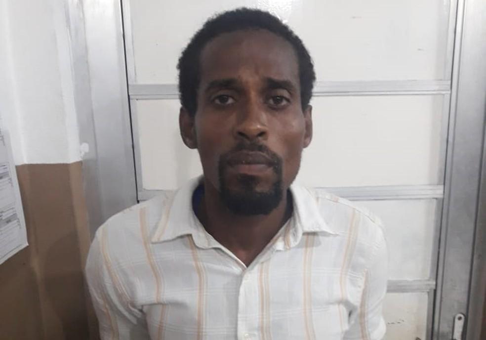 Homem prestou depoimento e foi encaminhado para sistema prisional — Foto: Divulgação/SSP-BA