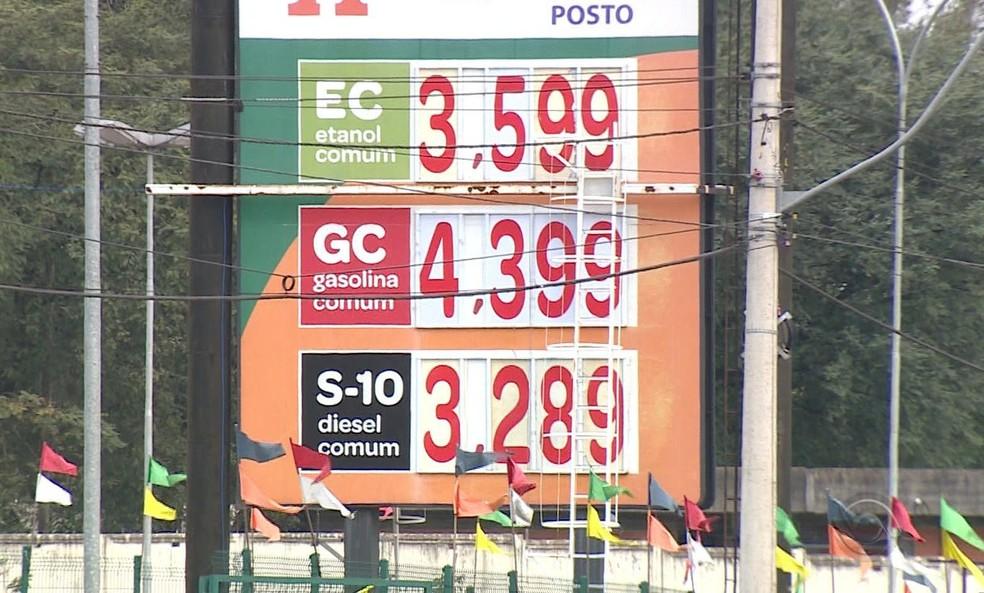 Preço da gasolina cai em várias cidades do Rio Grande do Sul
