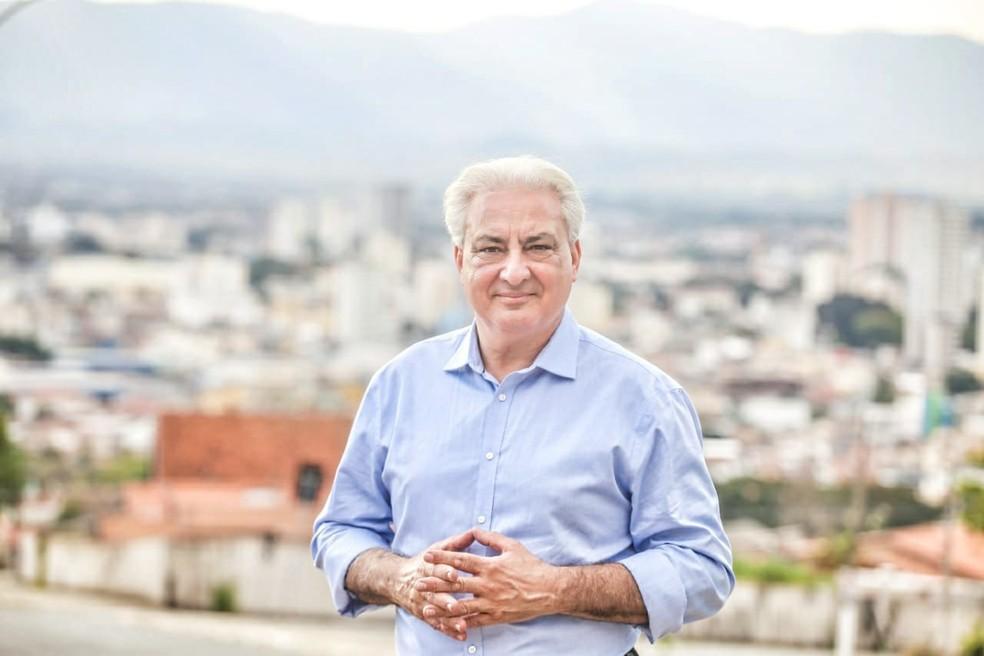 Salvador Khuryeh (PT) é pré-candidato a prefeito de Taubaté — Foto: Divulgação