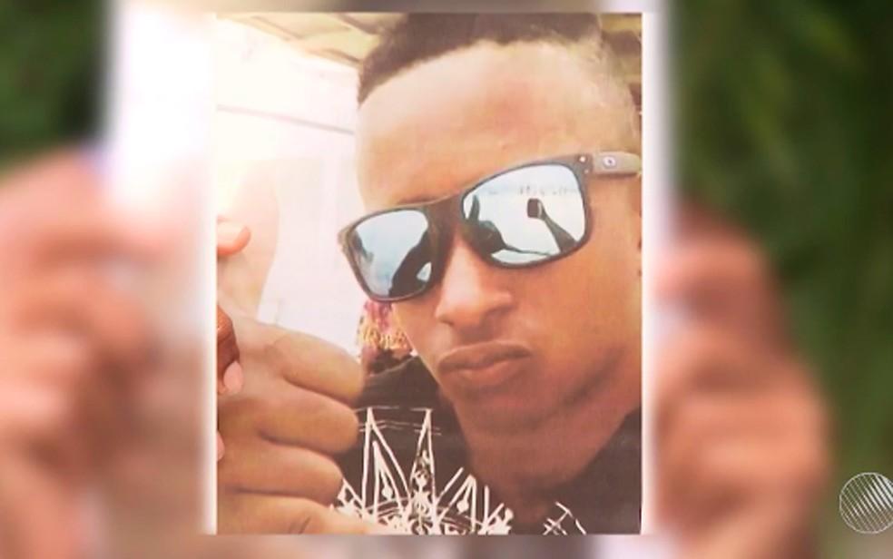 Garoto que sumiu após entrar em pomar de restaurante foi encontrado morto. Bahia (Foto: Reprodução/ TV Bahia)