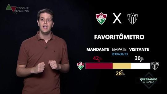 Fluminense x Atlético-MG: veja onde assistir, escalações, desfalques e arbitragem
