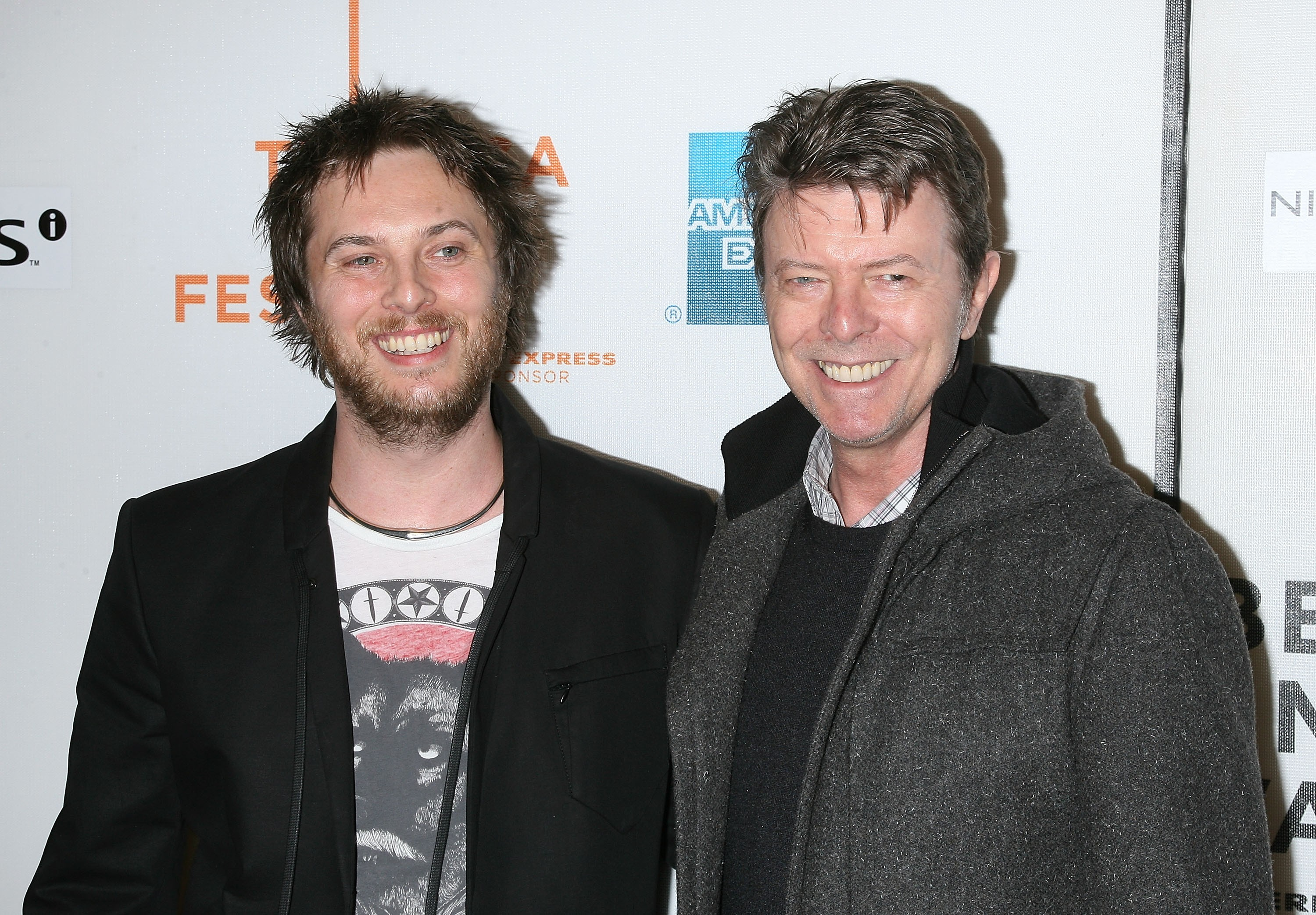 Duncan Jones com o pai, David Bowie, em 2009 (Foto: Getty Images / Jim Spellman)