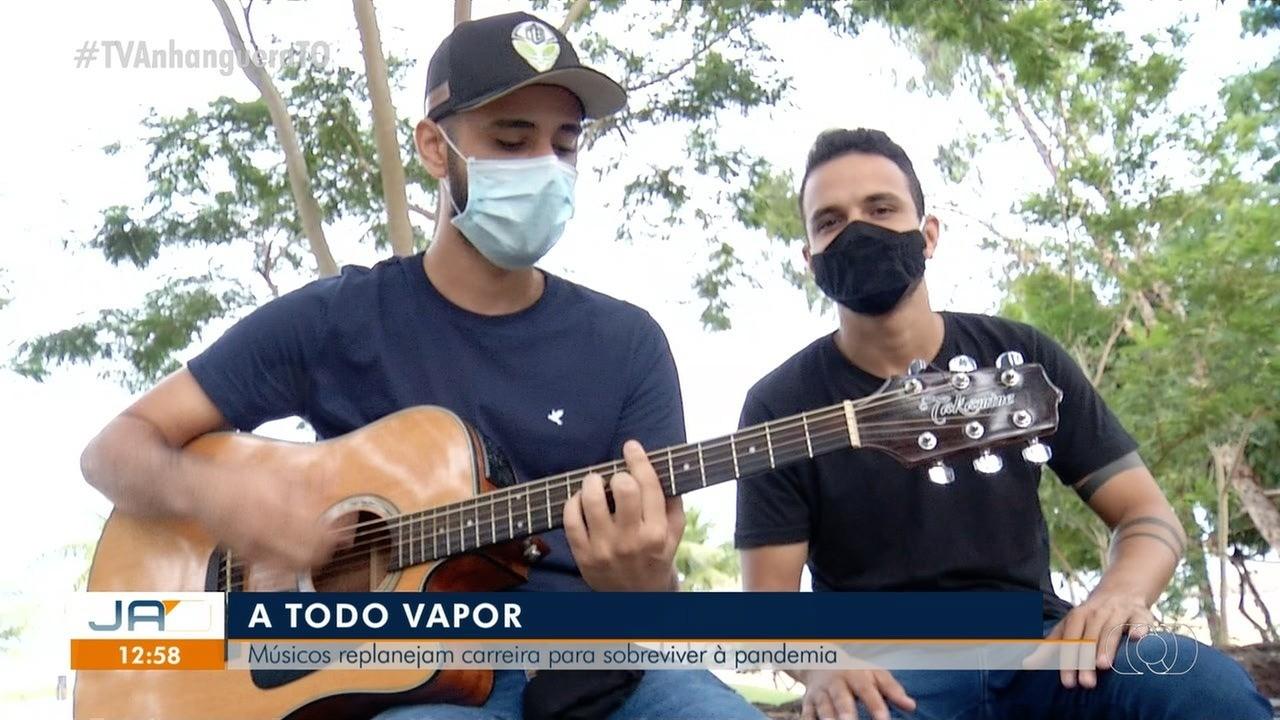 Músicos replanejam carreira por causa da pandemia