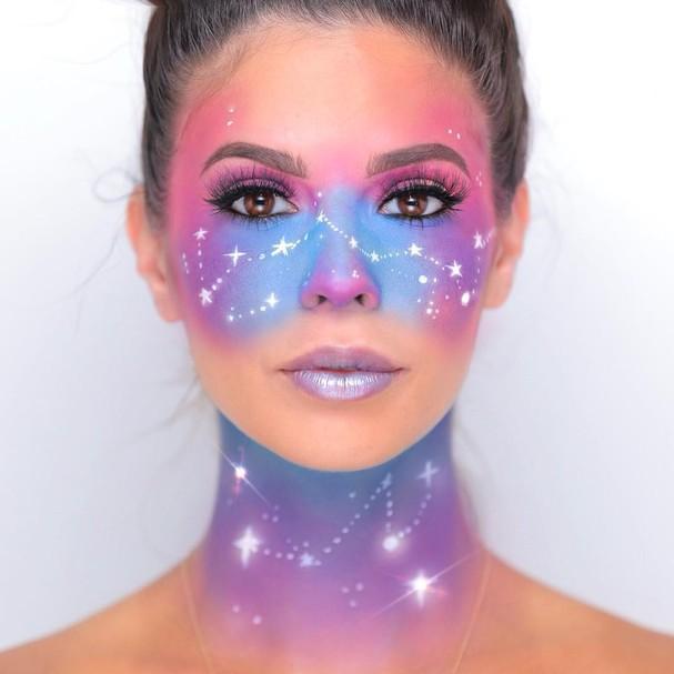 Make celestial (Foto: Reprodução/Instagram)