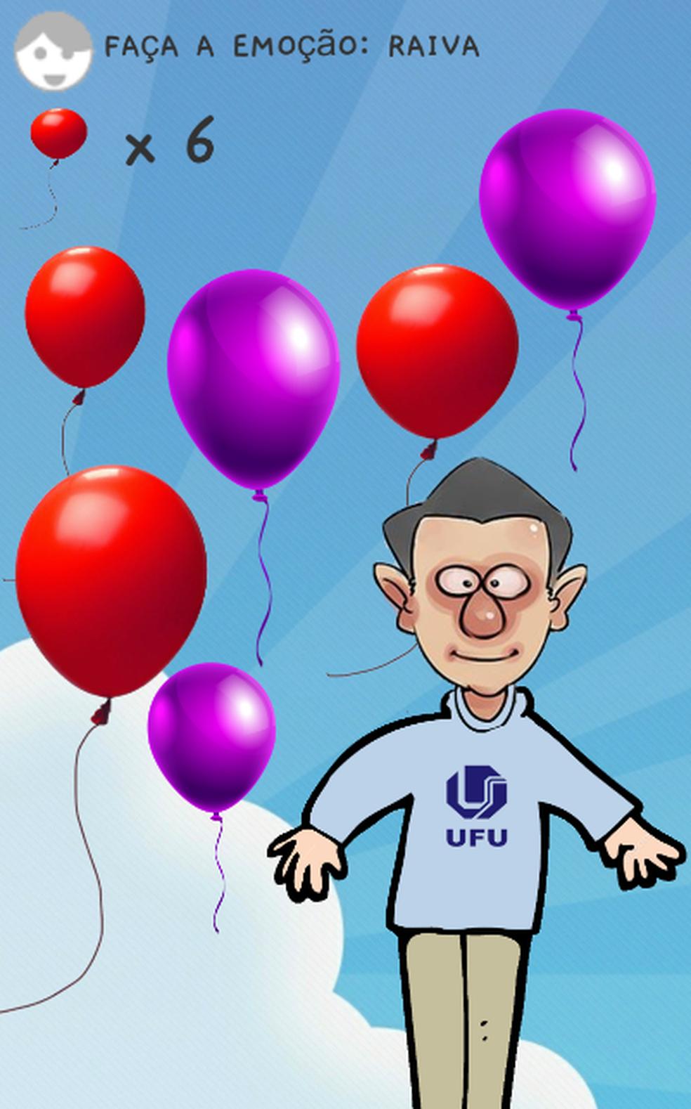 Estudante da UFU cria jogo que ajuda a desenvolver reações emocionais em crianças com autismo