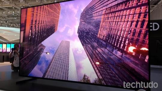 Q900R, primeira smart TV 8K QLED da Samsung, é apresentada na IFA 2018