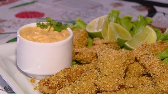 Petisco 'Pirarukê' é feito com pirarucu empanado na farinha de uarini; confira como preparar