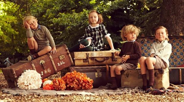 Pepa & Co vende roupas tradicionais para crianças da Inglaterra (Foto: Divulgação)