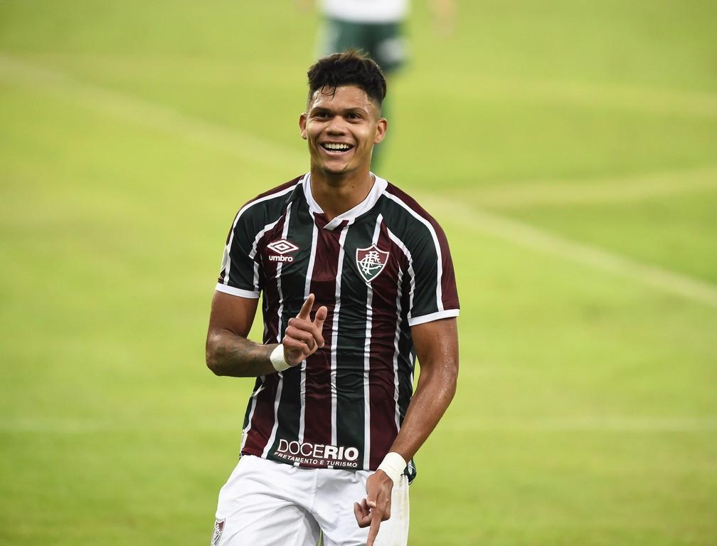 Evanilson, do Fluminense — Foto: André Durão