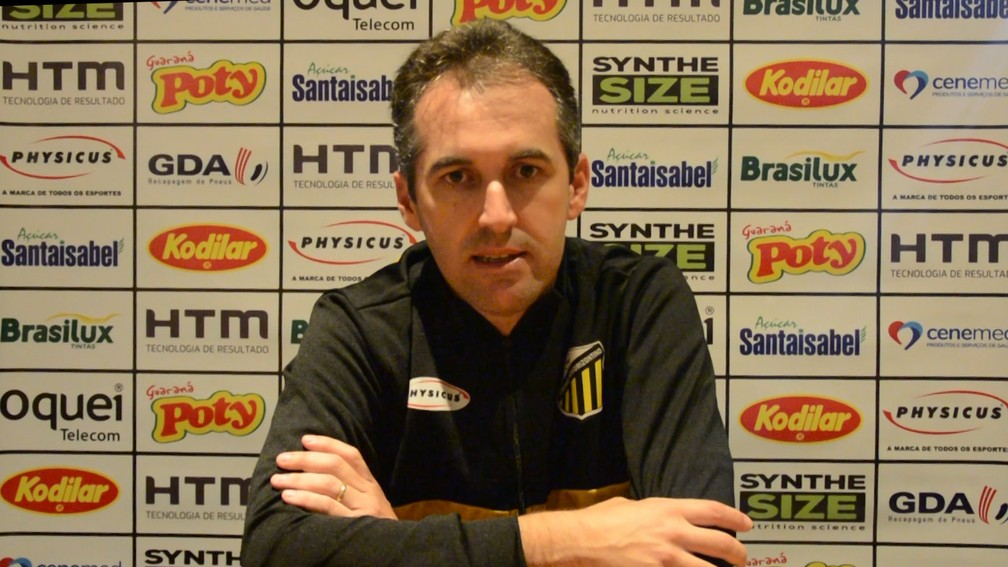 Léo Condé, técnico do Novorizontino — Foto: Reprodução/Grêmio Novorizontino