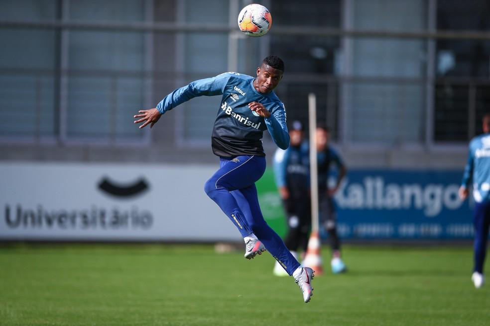 Orejuela jogou quatro vezes em 2020 — Foto: Lucas Uebel/Grêmio