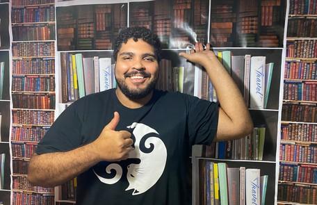 Paulo Vieira também participará das gincanas e brincadeiras de Rafa Kalimann no palco TV Globo/Divulgação