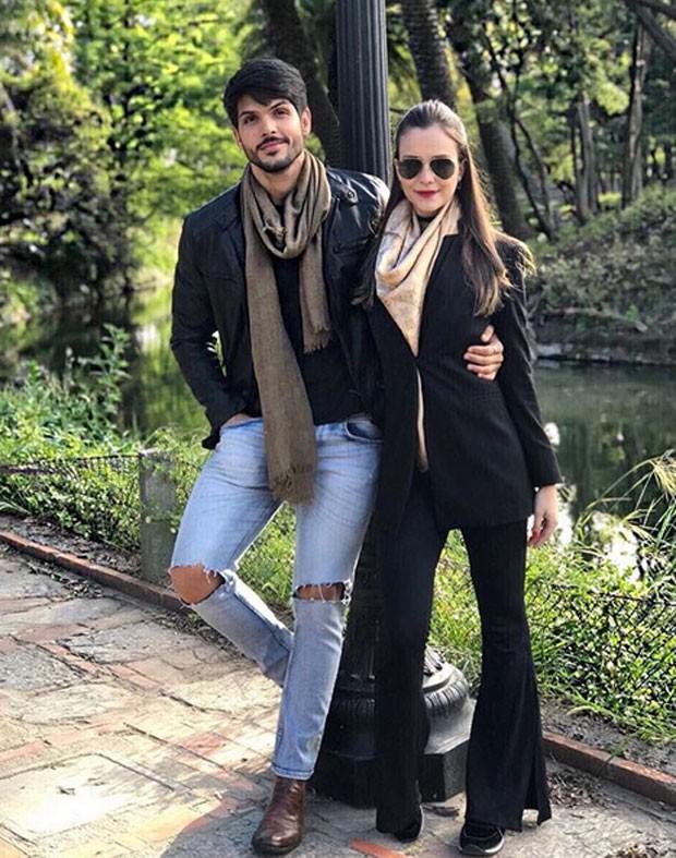 Lucas e Ana Lucia (Foto: Reprodução / Instagram)