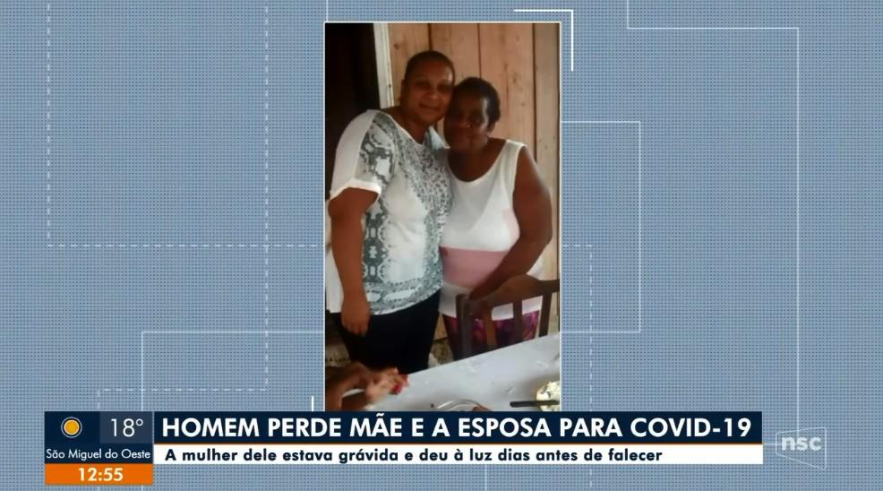 Em uma semana, morador de SC perde a mãe e a mulher para a Covid; 4º filho do casal nasceu dias antes