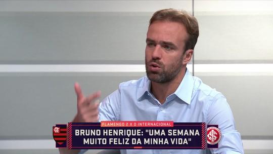 """Roger elogia convocação de Bruno Henrique e pede mais """"protagonistas"""" na Seleção"""