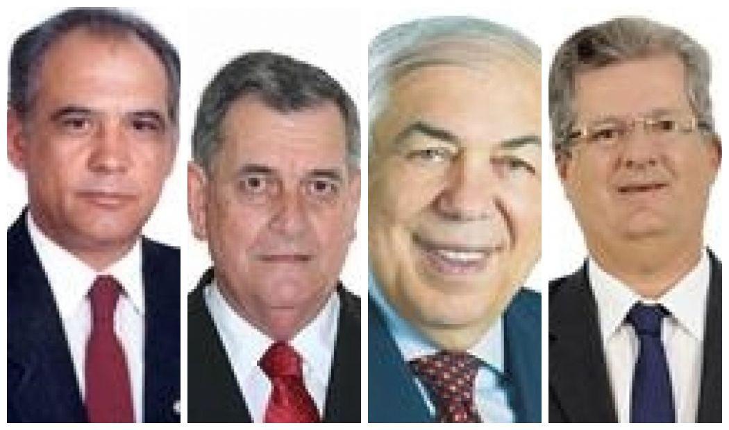 Roberto Balestra (PP-GO), Arnaldo Faria de Sá (PTB-SP), Paes Landim (PTB-PI) e Jutahy Júnior (PSDB-BA)