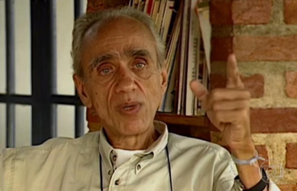 Betinho foi o idealizador do Natal sem Fome (Foto: Reprodução/TV Globo)