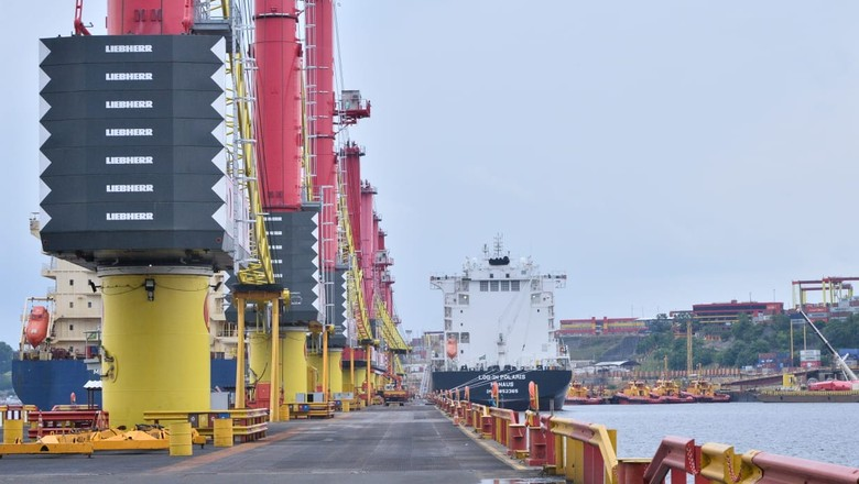infraestrutura-navio-cabotagem-manaus (Foto: Ministério da Infraestrutura)