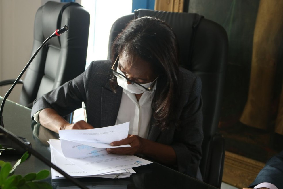 Prefeita de Cachoeira relata sofrer ameaças após ser eleita 1ª mulher ao cargo — Foto: Ascom / Prefeitura de Cachoeira