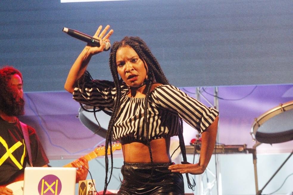 Larissa Luz tem show no Rec-Beat, no Cais da Alfândega. (Foto: Edgar Souza/ Divulgação)