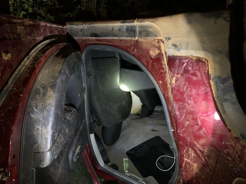 Motorista de 31 anos morre após carro cair de ponte e capotar em BR-070 em MT — Foto: Divulgação