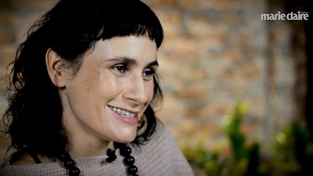 Lia Bock, mãe de gêmeas aos 40 anos (Foto: Marie Claire)